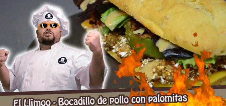 El Llimoo - Bocadillo de pollo con palomitas