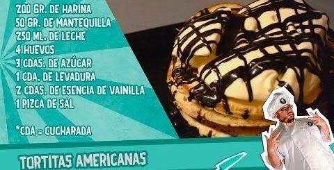 Tortitas americanas o American pancakes