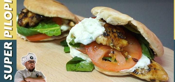 kebap casero estilo griego receta facil