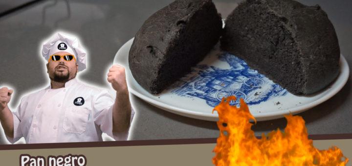 pan negro con tinta de calamar