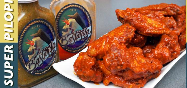 buffalo wings alitas de pollo estilo buffalo salsa picante salsa bastarda