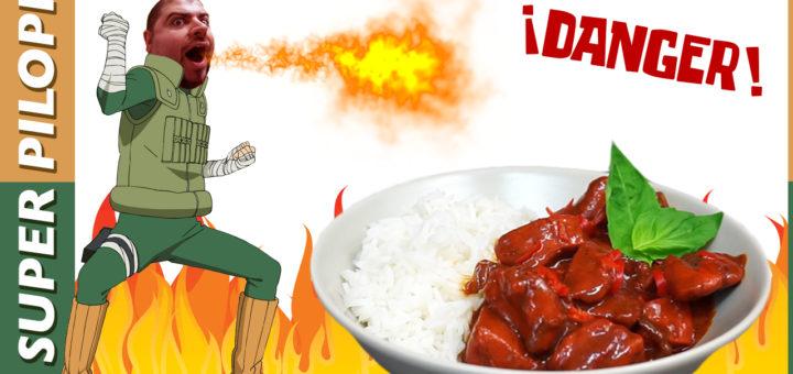 el curry de la vida naruto rocklee konoha picante cocina thai rojo peligro receta superpicante