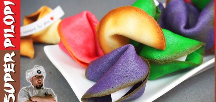 galletas de la fortuna rainbow fortune cookies colores oriental chino japones autenticas