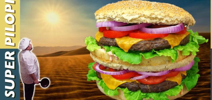 hamburguesa gigante comida xxl cronicas carnivoras brutal burguer receta