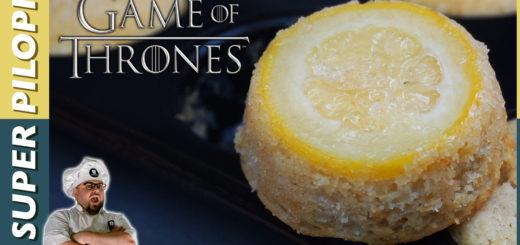 pastelitos de limon de juego de tronos game of thrones sansa stark cupcakes dulce pasteles