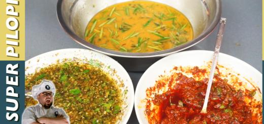 tres tecnicas para mejorar tus barbacoas salsa chumichurri marinada marinado para carne de ternera o de res adobo para pollo barbacoa en un cubo bucket BBQ