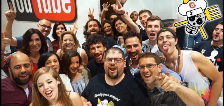 Superpilopi en la #YouTubeSpaceMAD - Vlog