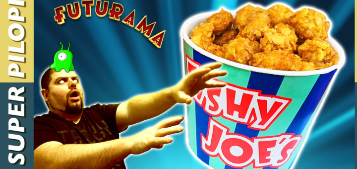 futurama popplers palomitas de pollo cereales rebozado especias receta fishy joes
