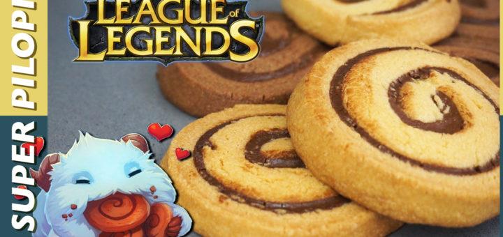 galletas poro porogalletas cookies legue of legends leagueoflegends lol receta recipe nutella nocilla cacao