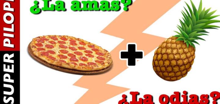 Pizza de piña