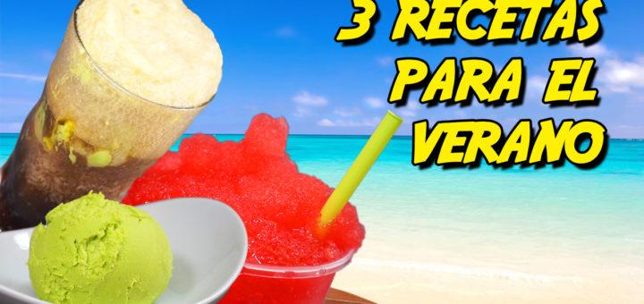 tres recetas fresquitas para verano helado sprite azucar invertido granizado raspado float refresco calor receta pilopi superpilopi