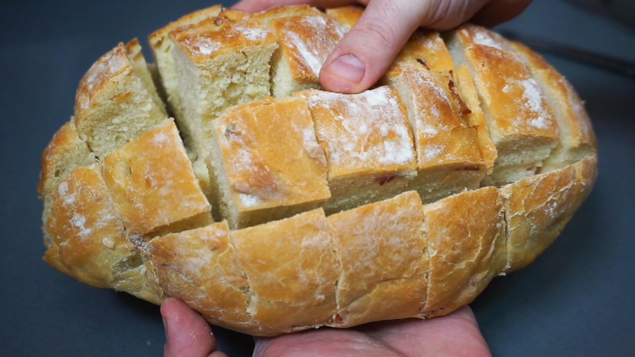 Pan cortado por completo
