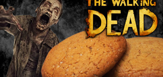 galletas chocolate walking dead carol cookies receta zombies muerte