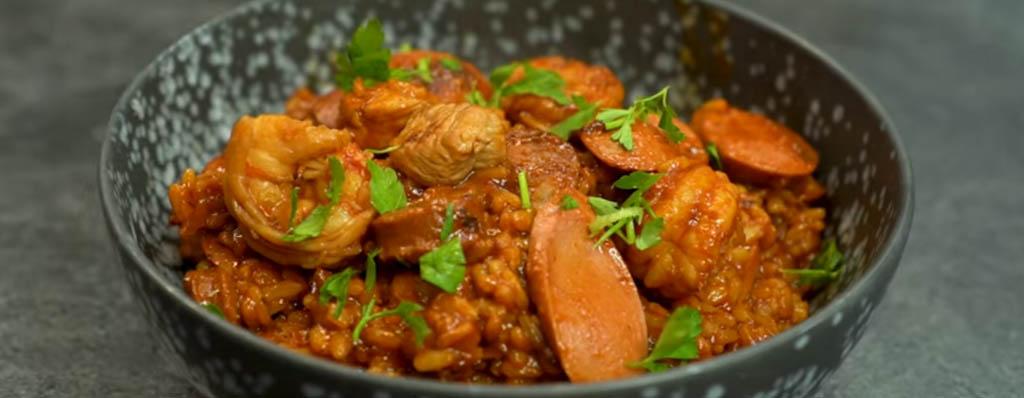 Jambalaya receta cajún