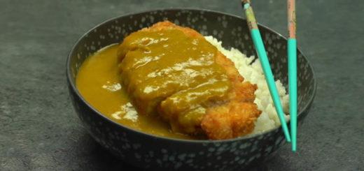 Katsukare, chuleta de cerdo con arroz y curri
