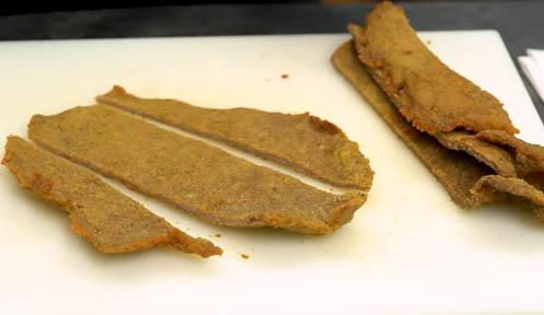 Cortar el filete en tiras
