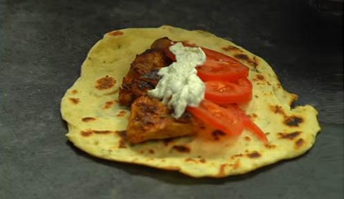 Ingredientes kebab casero