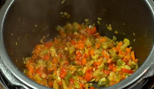 Pochar la verdura