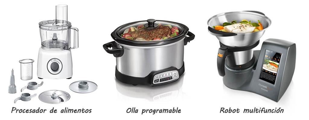 Tipos de robots de cocina