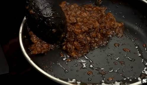 la carne de cerdo se separa del aceite