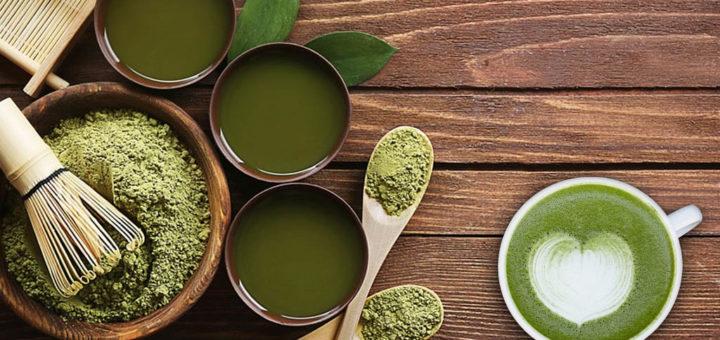 Té verde japonés