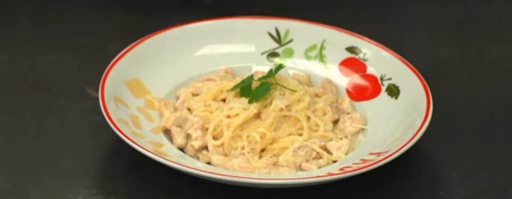 pasta cremosa con grana padano receta italiana
