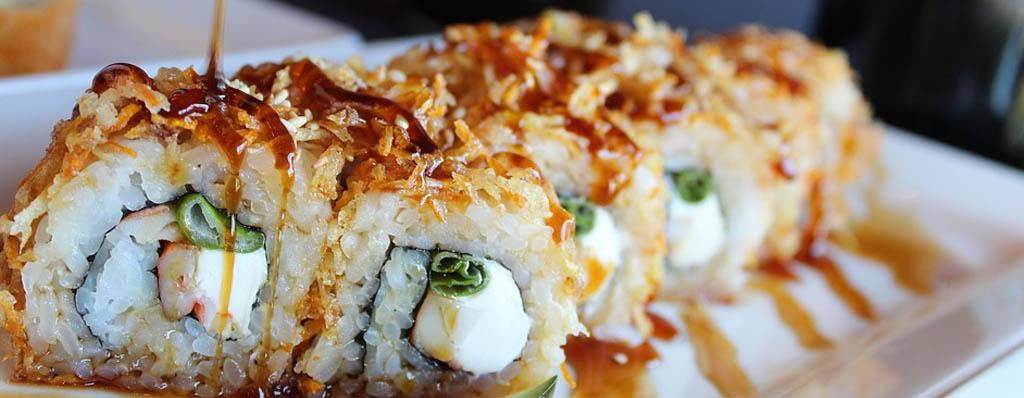 sushi arroz japones