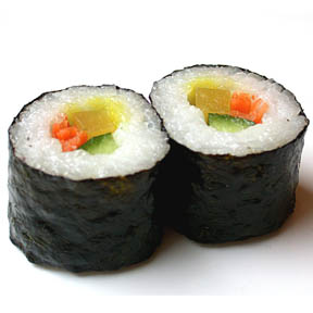 makizushi alga nori