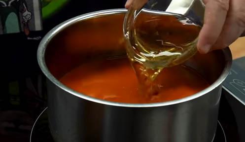 cocinar con vinagre y reducir