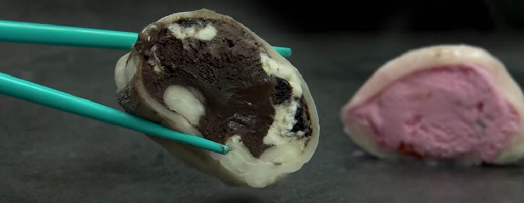 mochis rellenos de helado