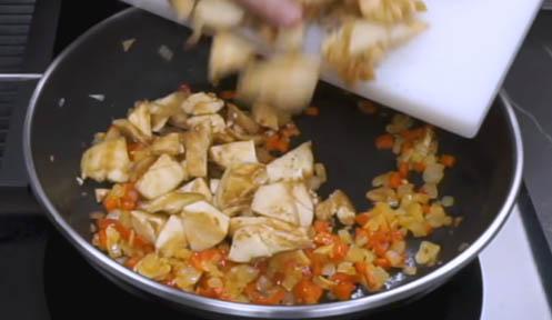 Cocinar las berenjenas