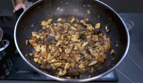 Cocinar las setas