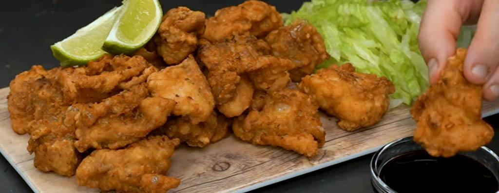 Pollo frito japones karaage