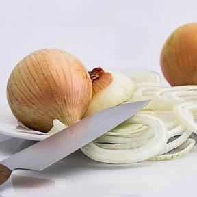 cortar cebollas