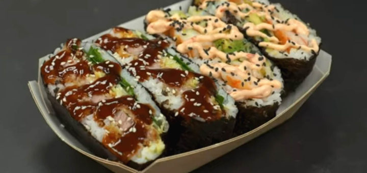 sushi sándwich